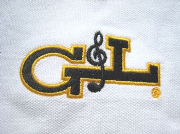 Apparel - G&L Logo Polo Shirt - White