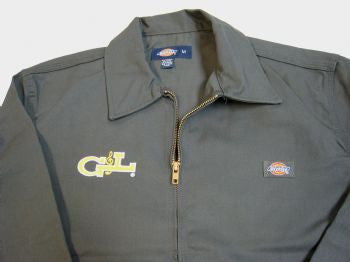 Apparel - G&L Logo Dickies Jacket - Grey