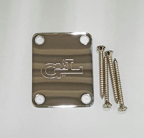 G&L Guitar Neck Plate with 4 Screws
