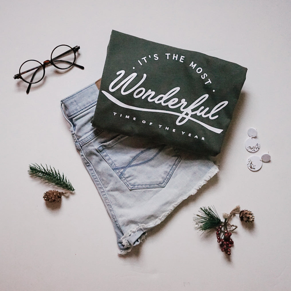 Wonderful Time Forest Tee