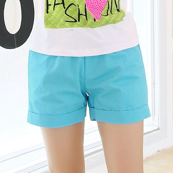 Relaxed Cotton Shorts