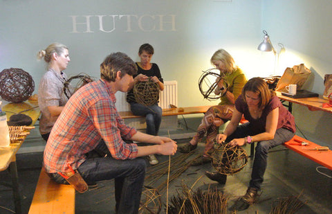 hutch interiors golborne road tom hare willow weaving workshop
