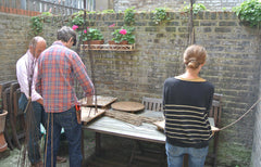 hutch interiors golborne road tom hare willow weaving workshop willow sculpture