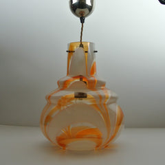 1960s Italian Glass pendant lamp