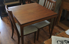 SOLD - Belgian late 50s square dining table