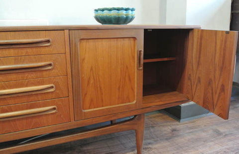Teak 60s G-Plan English Sideboard - SOLD