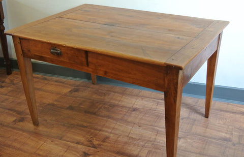 French 19th century cherrywood table - NOW SOLD