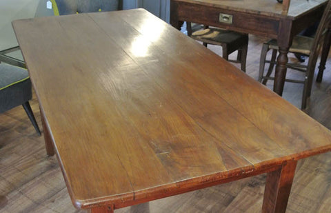 SOLD - French 19th century cherrywood table