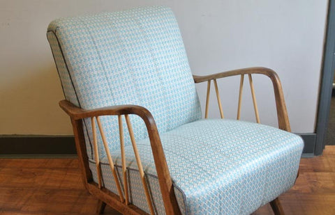 SOLD - Danish style mid-century arm chair