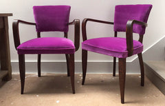 French 1940s Bridge Chairs