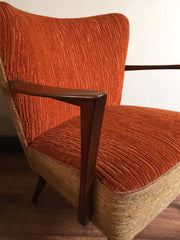 SOLD - 50s cocktail armchairs