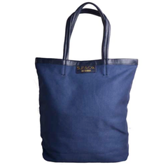 Small Navy canvas tote - S.P & Co.