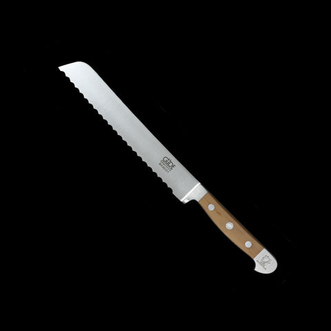 "Gude Alpha Pear-wood Series 8"" Bread Knife"