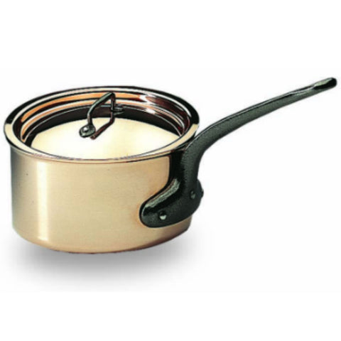 Bourgeat Copper Saucepan with lid