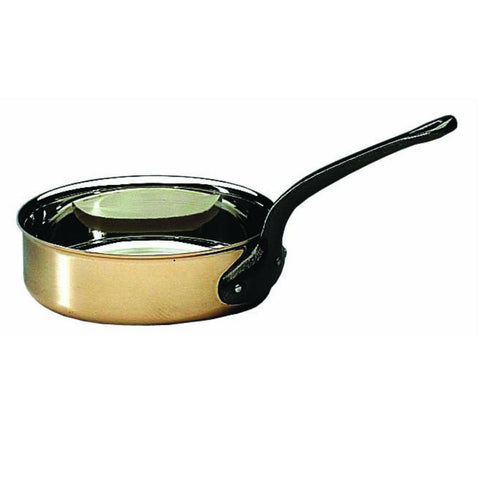 Bourgeat Copper Sauté Pan without lid