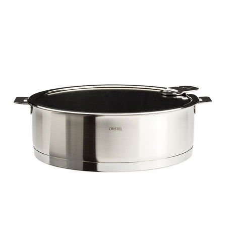 Cristel Strate Removable Handle Excalibur non-stick saute pan with lid