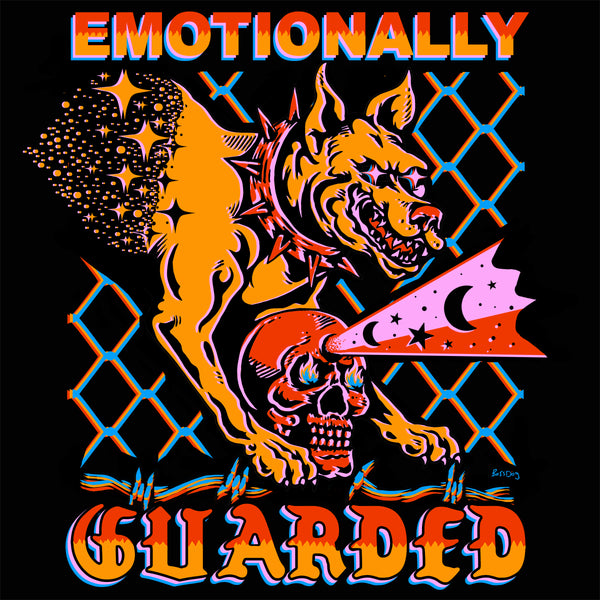 Emotionally Guarded Tee