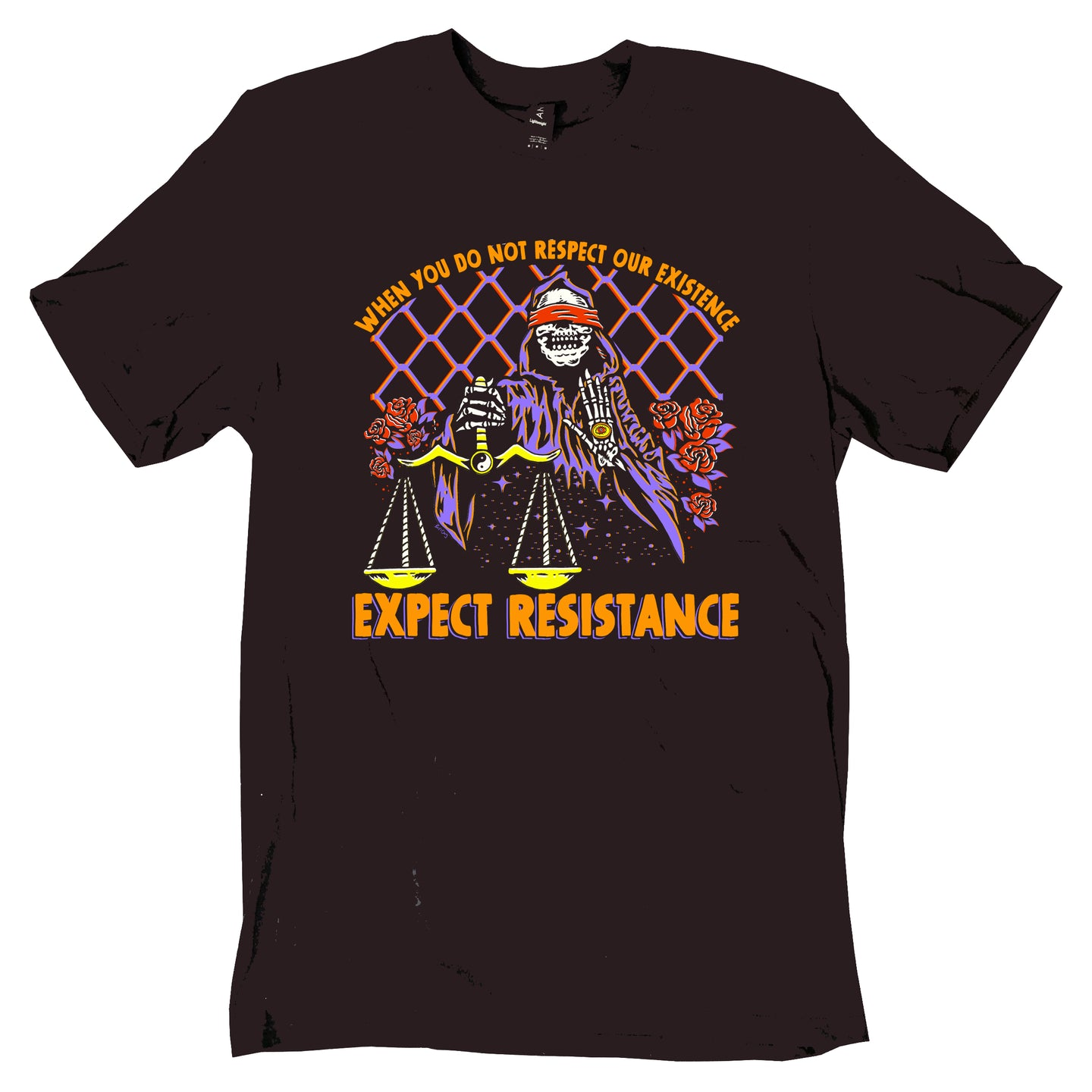 Expect Resistance Tee