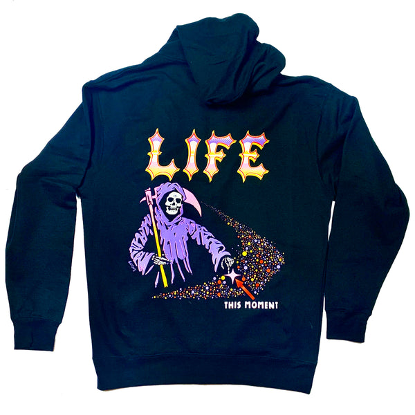 Life, This Moment Zip Up Hoodie