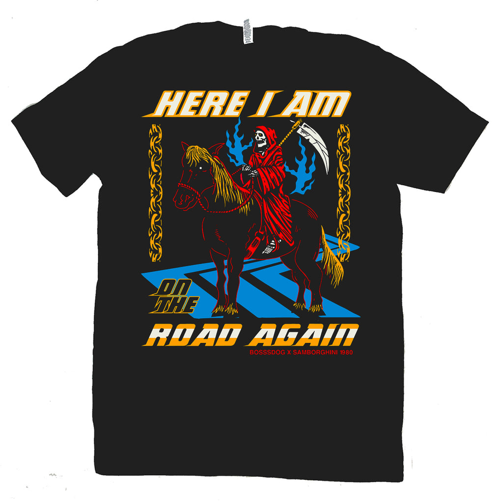 On The Road Again T Shirt Collab with Samborghini