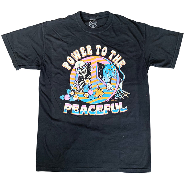 Power To The Peaceful Tee