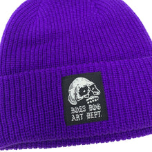 Load image into Gallery viewer, Boss Dog Art Dept. Purple Beanie