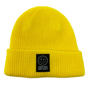 Boss Dog Art Dept. Yellow Beanie