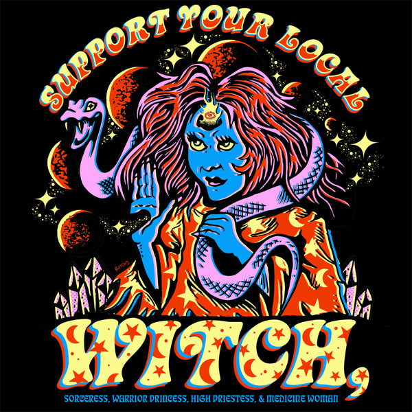 Support Your Local Witch Tee