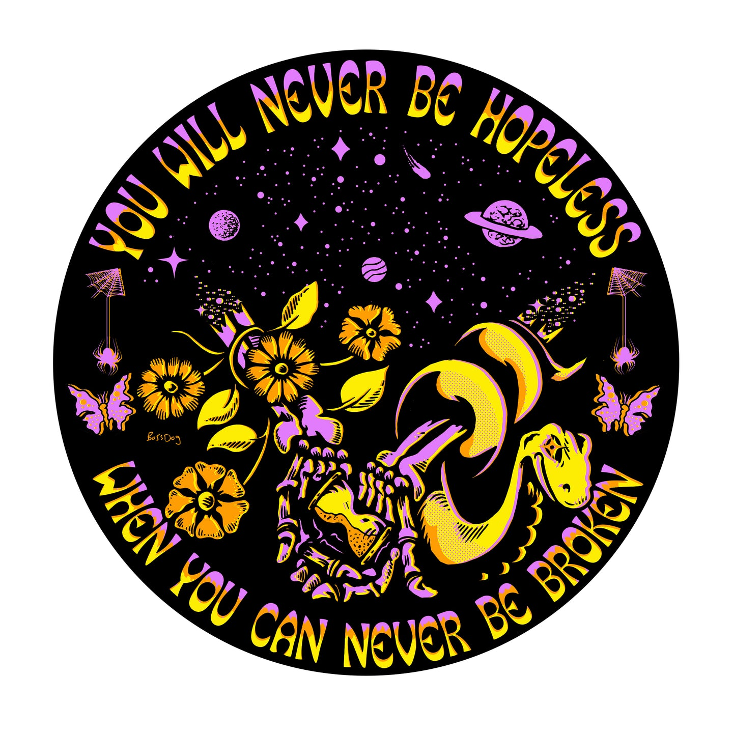 Never Be Hopeless Sticker
