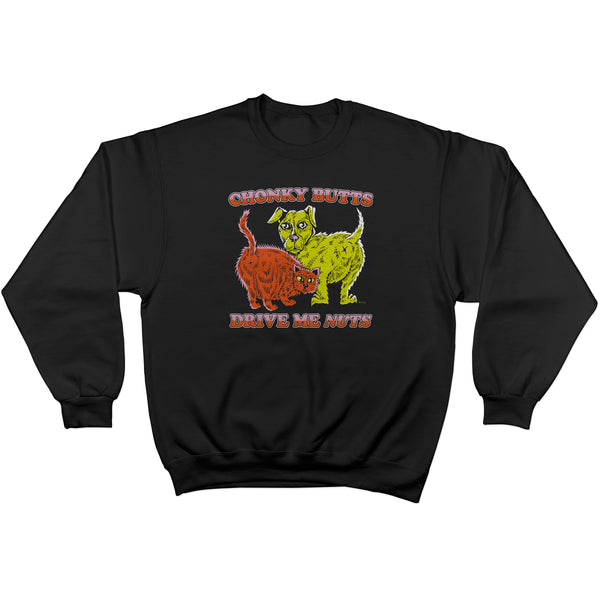 Chonky Butts Crewneck Sweatshirt