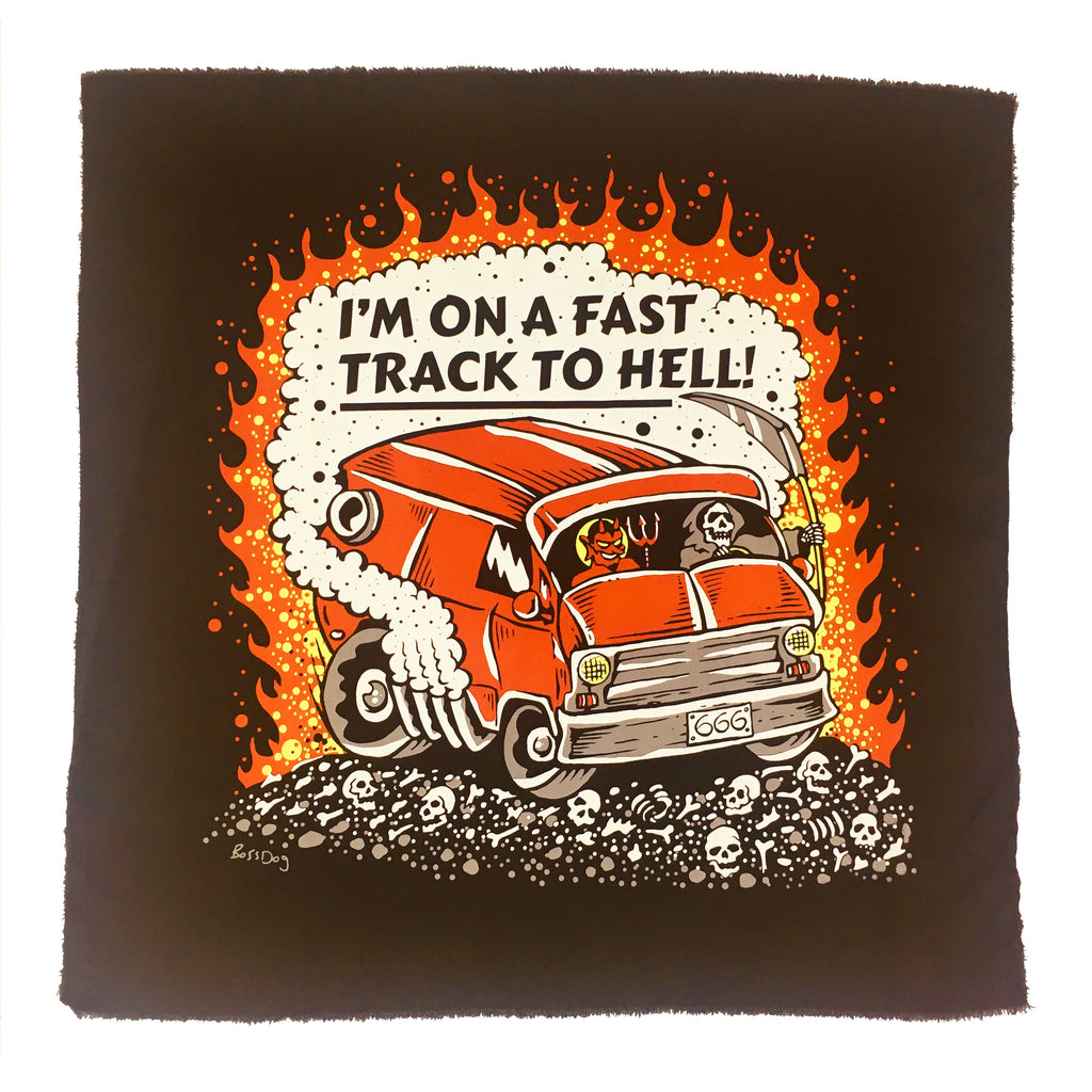Fast Track To Hell Back Patch