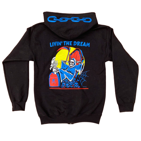 Livin' The Dream Zip-Up Hoodie