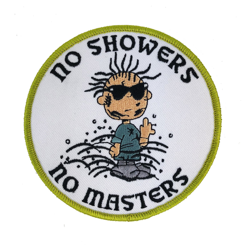 No Showers No Masters Patch