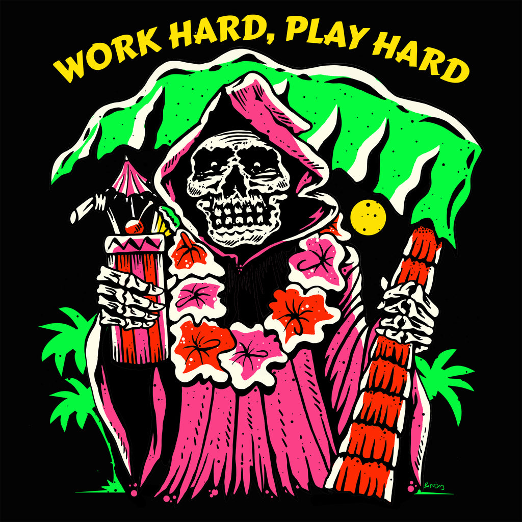 Work Hard Play Hard T shirt