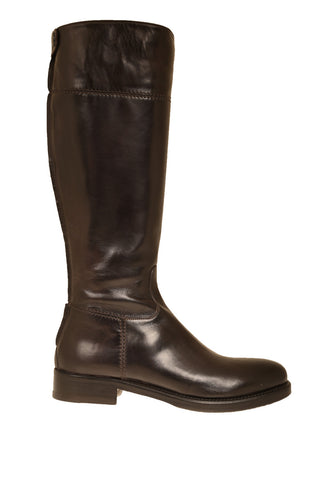 Fabiana Chocolate Brown Leather