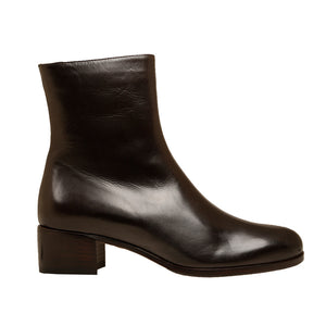 Donata Dark Brown Leather