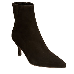 Beatrice Black Suede