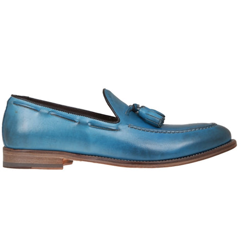 Oneil Blue Leather