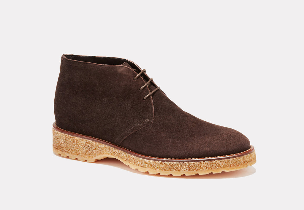 Genova Brown Suede