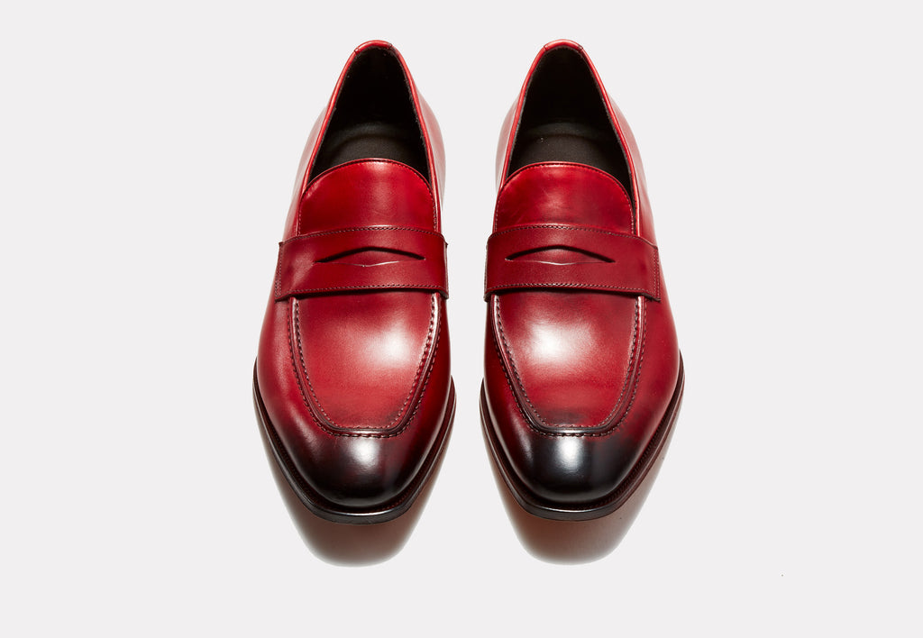 Fiorentino Red Leather