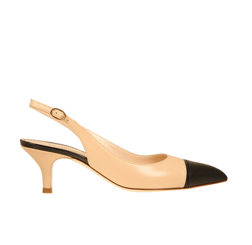 Perla Black and Beige