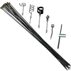 lateral line kit, lateral rod kit, lateral line cleaning, round coupling rod
