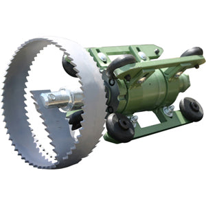 root cutter, root cutter motor, root cutter thruster, patriot 1 root cutter, patriot 1 grease cutter, root cutting system