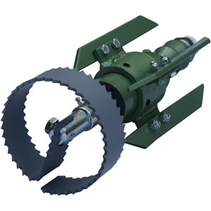 root cutter, root cutter motor, root cutter thruster, patriot 2 root cutter, patriot 2 grease cutter, root cutting system