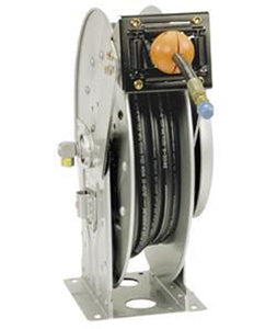 hose reel, hydro excavation reel, hydro ex hose reel, hannay, excavation hose reel.