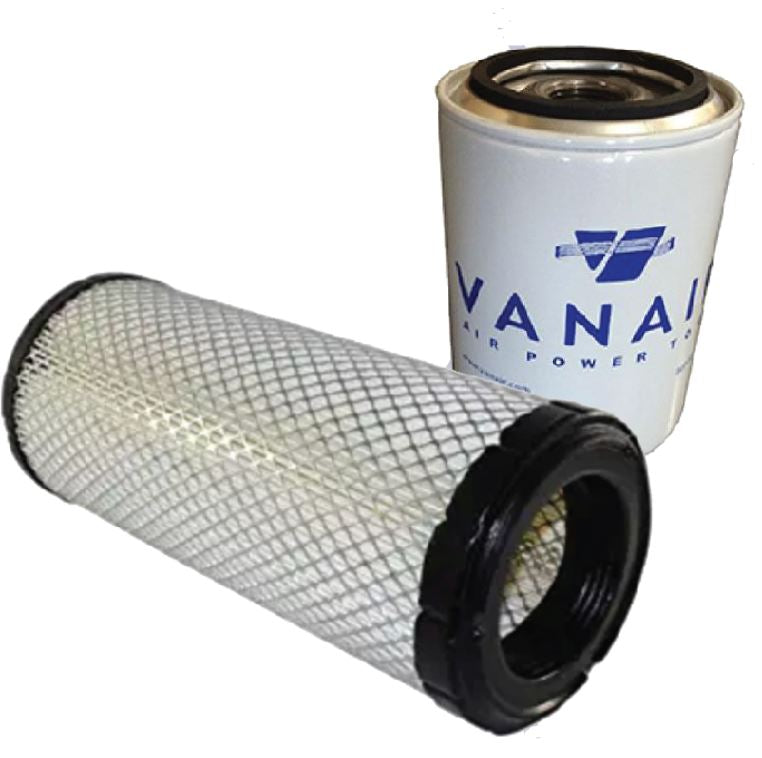 air compressor, air filter, oil filter, vanair, filtration,
