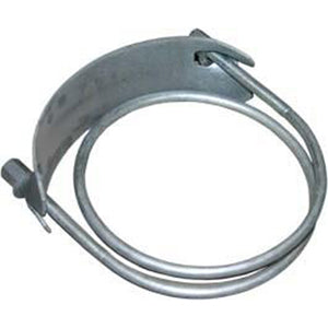 hose clamp, vacuum hose clamp, vac hose clamp, hydro excavation hose clamp, boom hose clamp, spiral hose clamp