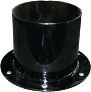 suction hose adapter, top hat, steel hose cuff