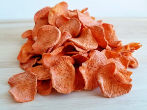 Sweet Potato Crisps Pet Treats, 2 oz. bag