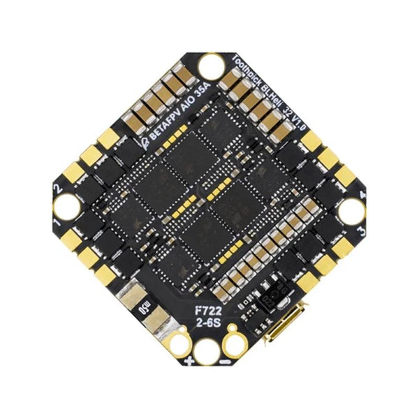 BetaFPV Toothpick F722 2-6s AIO Brushless Flight Controller 35A (w/BLHeli_32)